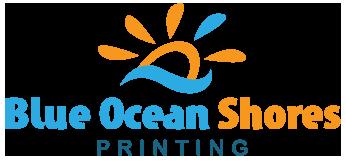 Blue Ocean Shores Printing